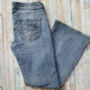 Silver Eden Flare Jeans